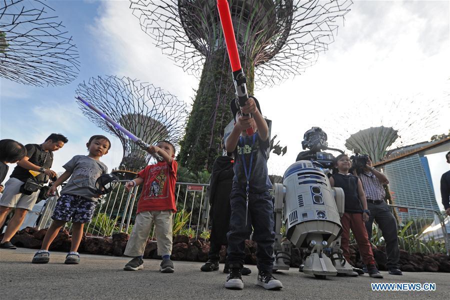 SINGAPORE-STAR WARS DAY