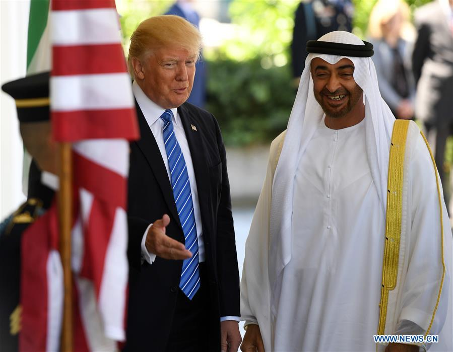 U.S.-WASHINGTON D.C.-UAE-ABU DHABI-CROWN PRINCE-VISIT