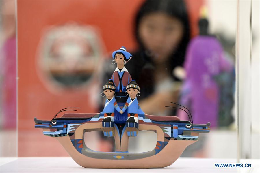 #CHINA-ZHEJIANG-CLAY FIGURE ZHANG-EXHIBITION (CN)