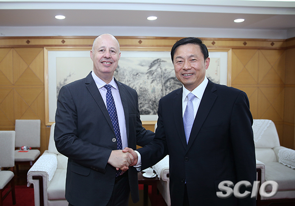 Guo Weimin meets Israeli Minister of Regional Cooperation