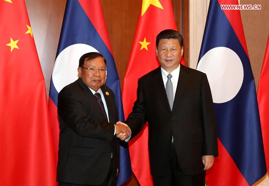 CHINA-LAOS-PRESDIENTS-MEETING (CN)