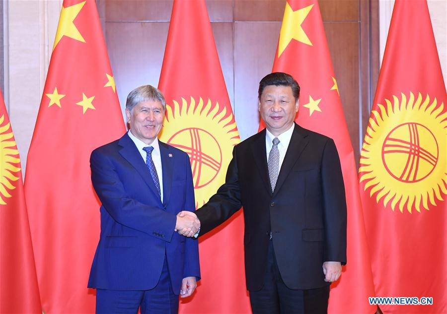 CHINA-KYRGYZSTAN-PRESDIENTS-MEETING (CN)