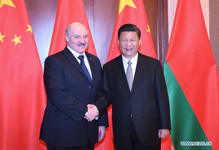 CHINA-BELARUS-PRESDIENTS-MEETING (CN)