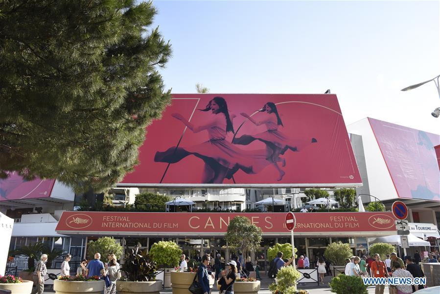 FRANCE-CANNES-70TH CANNES INTERNATIONAL FILM FESTIVAL-PREPARATION