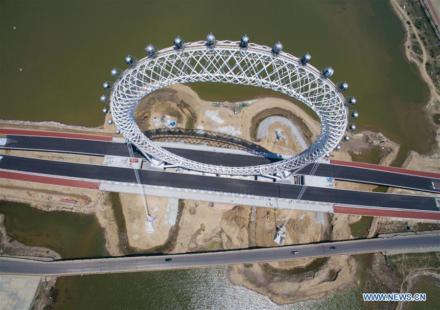 #CHINA-SHANDONG-WEIFANG-CENTERLESS FERRIS WHEEL (CN)