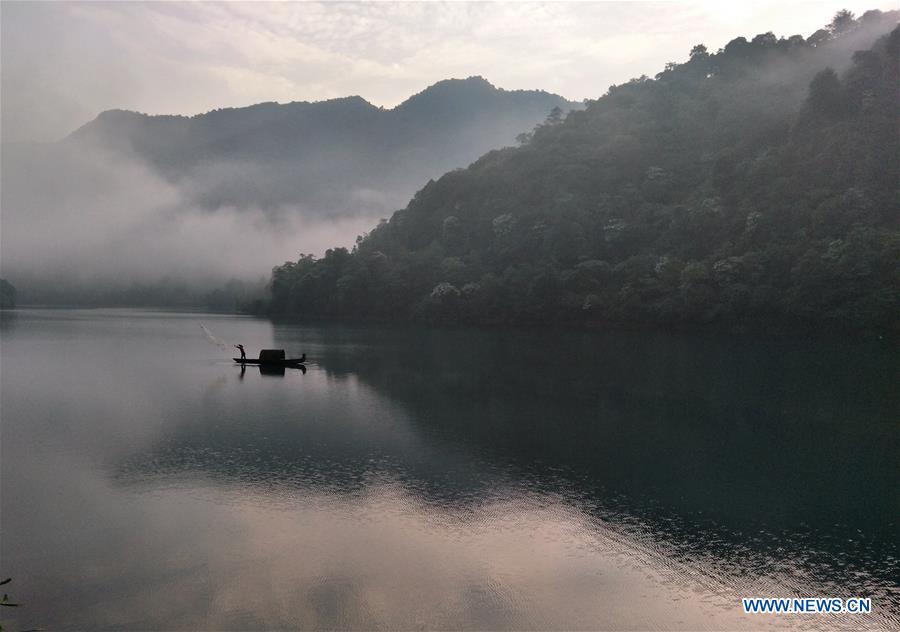 #CHINA-HUNAN-DONGJIANG LAKE-SCENERY (CN)