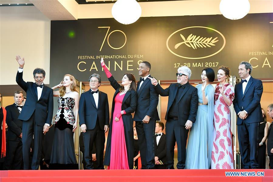 FRANCE-CANNES-70TH CANNES INTERNATIONAL FILM FESTIVAL-OPENING-RED CARPET