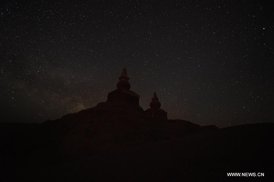 CHINA-INNER MONGOLIA-EJIN-STARRY SKY (CN)