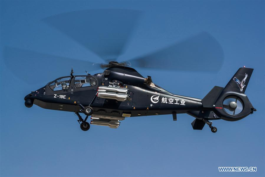 CHINA-HEILONGJIANG-HARBIN-ARMED HELICOPTER-MAIDEN FLIGHT (CN)