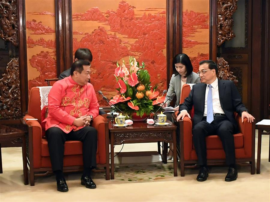 CHINA-BEIJING-LI KEQIANG-THE PHILIPPINES-MEETING (CN)