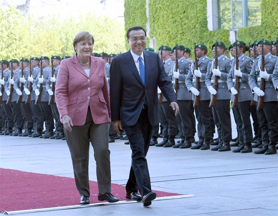 GERMANY-CHINA-LI KEQIANG-WELCOME CEREMONY