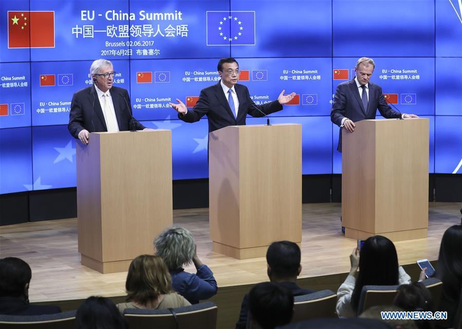 BELGIUM-BRUSSELS-LI KEQIANG-PRESS CONFERENCE