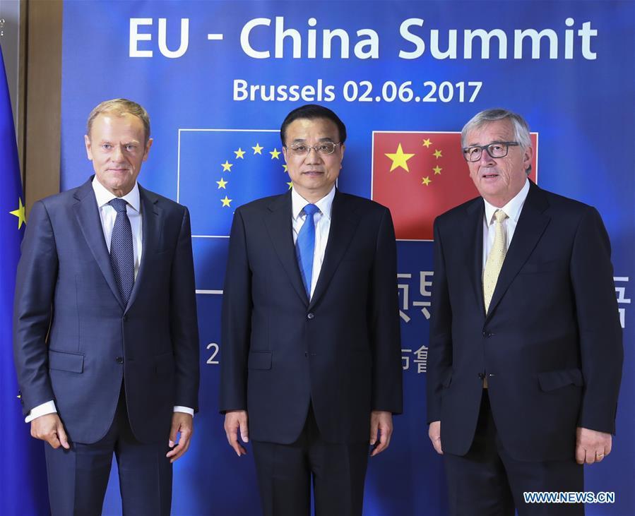 BELGIUM-BRUSSELS-LI KEQIANG-CHINA-EU LEADERS' MEETING