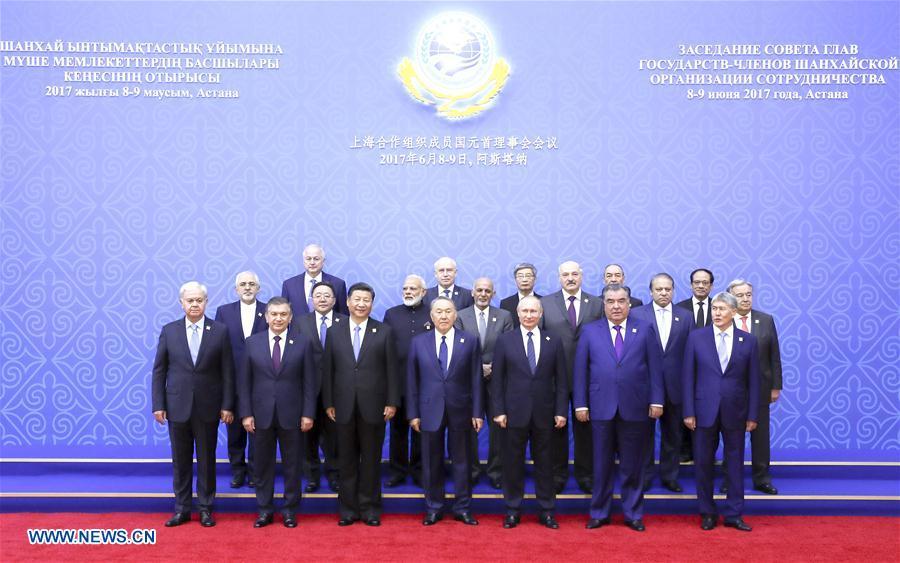KAZAKHSTAN-CHINA-XI JINPING-SCO-MEETING