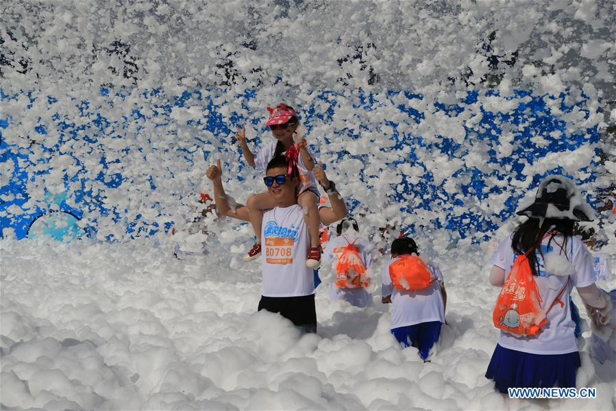 #CHINA-BEIJING-BUBBLE RUN (CN)