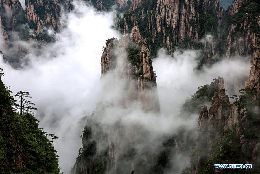 #CHINA-ANHUI-HUANGSHAN-SCENERY (CN*)