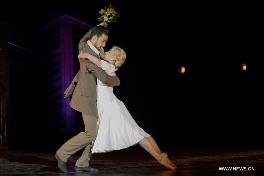 HUNGARY-BUDAPEST-BALLET-A STREETCAR NAMED DESIRE-DRESS REHEARSAL