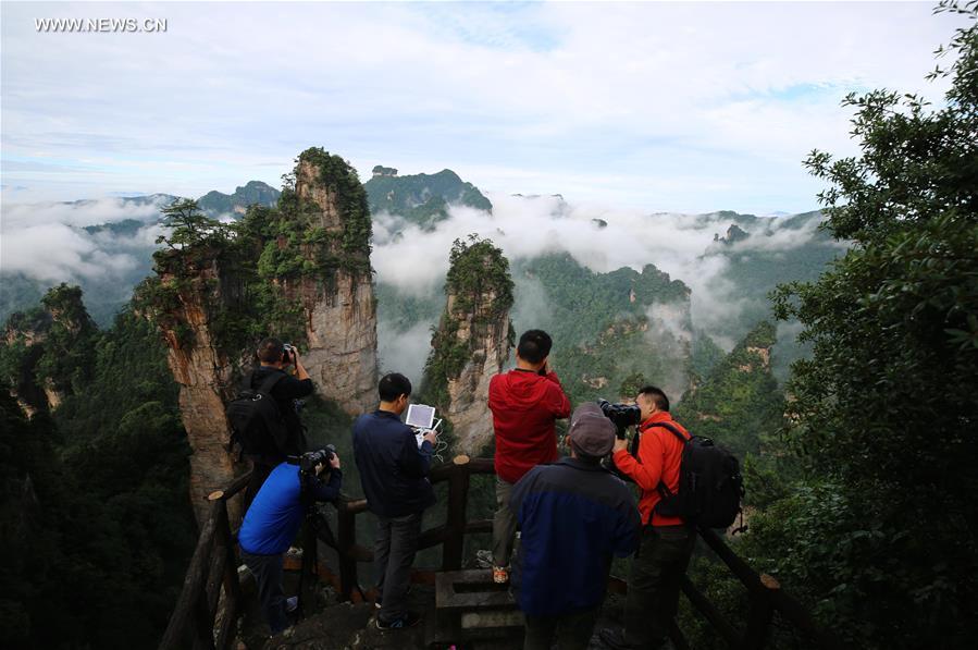#CHINA-HUNAN-ZHANGJIAJIE-SCENERY (CN*)