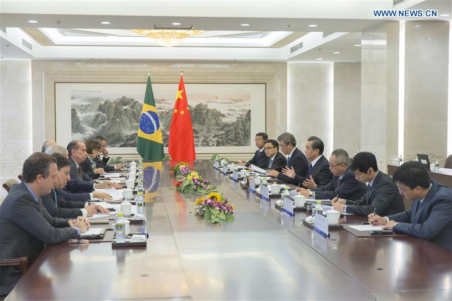 CHINA-BRAZIL-FM-STRATEGIC DIALOGUE (CN)