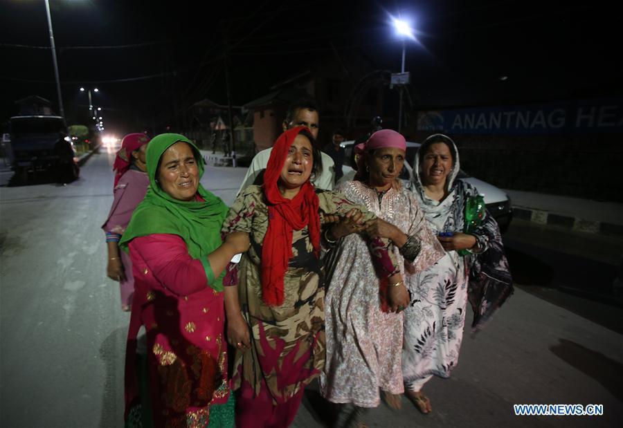 INDIAN-CONTROLLED KASHMIR-SRINAGAR-VIOLENCE
