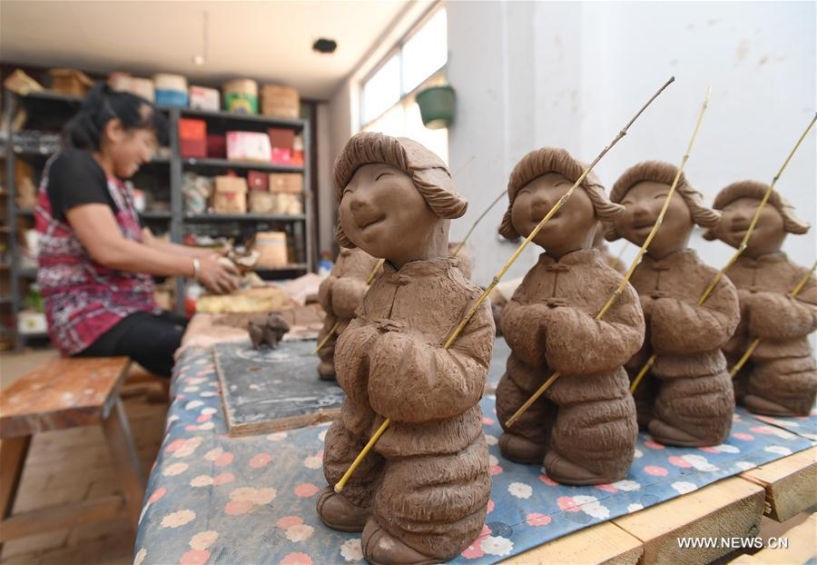 CHINA-HEBEI-CULTURE-CLAY SCULPTURE (CN)