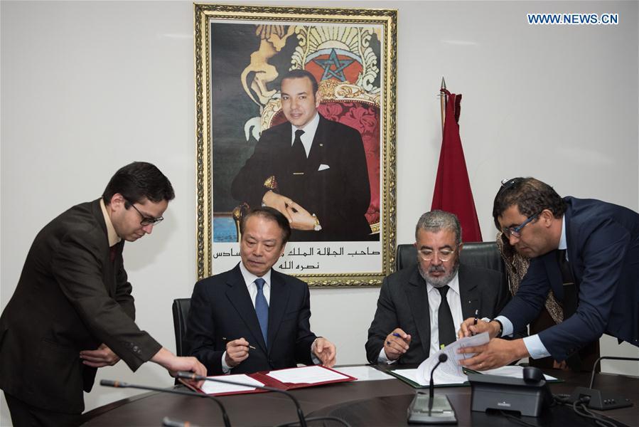 MOROCCO-RABAT-CHINA-XINHUA NEWS AGENCY-MAGHREB ARAB PRESS-COOPERATION