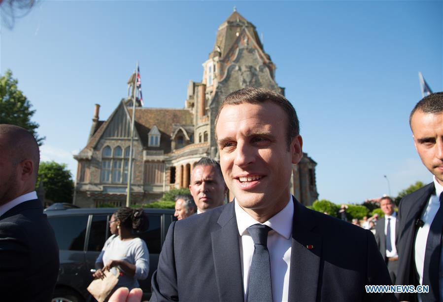 FRANCE-LE TOUQUET-LEGISLATIVE ELECTIONS-SECOND ROUND-MACRON