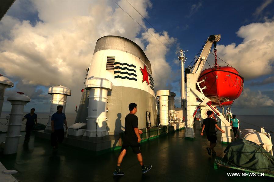 PACIFIC OCEAN-CHINA-XIANGYANGHONG 09-SUNSET SCENERY