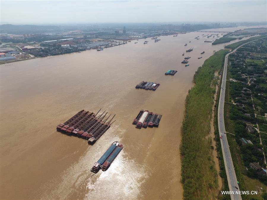 CHINA-HUNAN-CHANGSHA-FLOOD-RECEDING (CN)