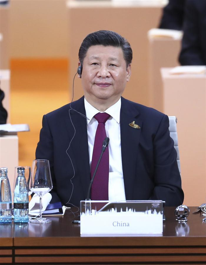 GERMANY-HAMBURG-CHINA-XI JINPING-G20 SUMMIT