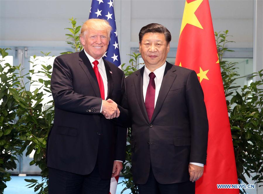 GERMANY-HAMBURG-CHINA-U.S.-XI JINPING-TRUMP-MEETING