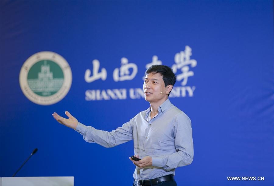 CHINA-SHANXI-BAIDU-CEO-SPEECH (CN)