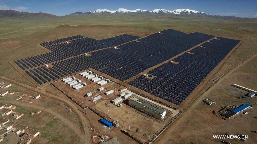 CHINA-TIBET-NAGQU-PV POWER PLANT (CN)