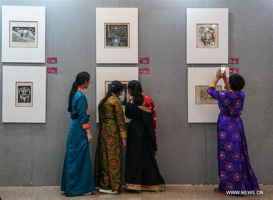 CHINA-BEIJING-TIBET-ART-EXHIBITION (CN)