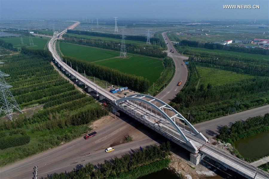CHINA-TANGSHAN-RAILWAY BRIDGE-CONSTRUCTION(CN)