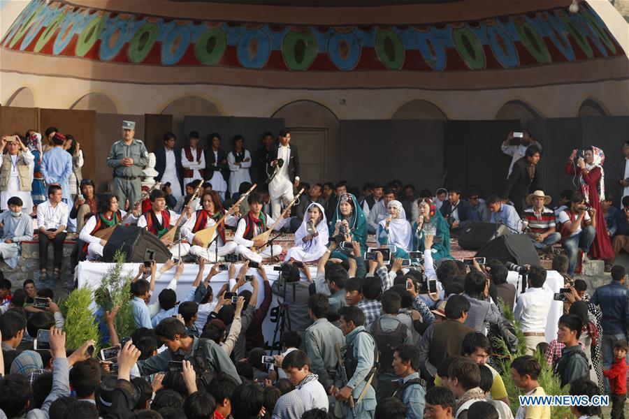 AFGHANISTAN-BAMYAN-MUSIC FESTIVAL