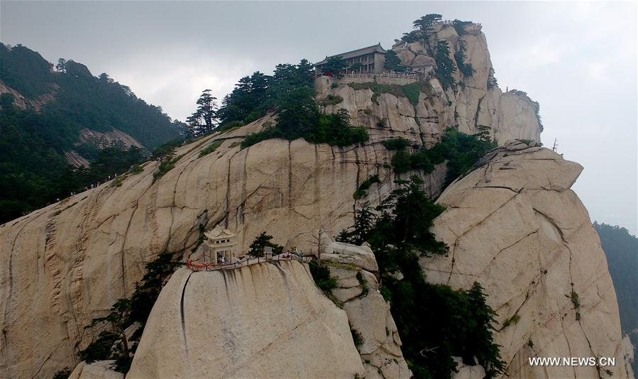 CHINA-SHAANXI-HUASHAN MOUNTAIN-TOURISM (CN)