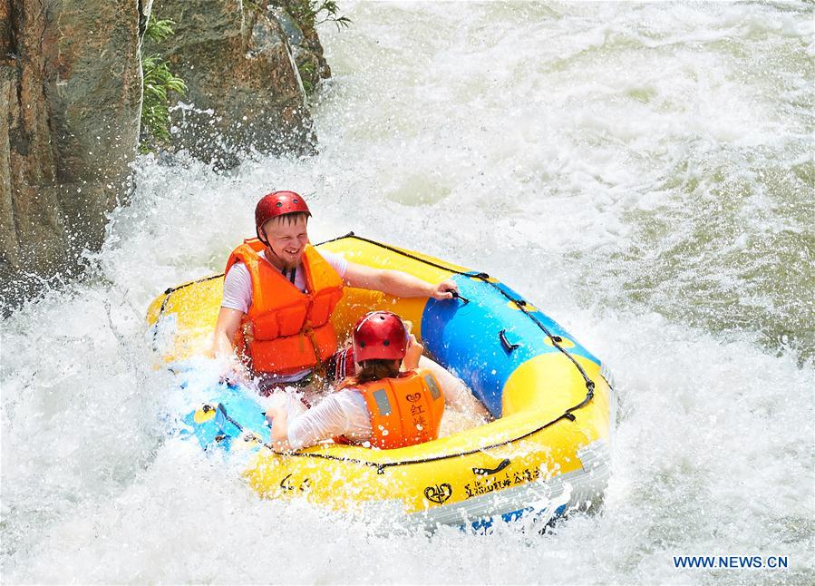 CHINA-HAINAN-RAFTING-TOURISM (CN)