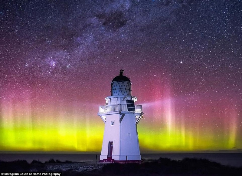 Gorgeous New Zealand's night sky