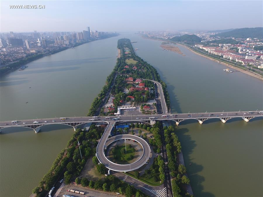 CHINA-CHANGSHA-POST-FLOOD JUZIZHOU-TOURISM (CN)