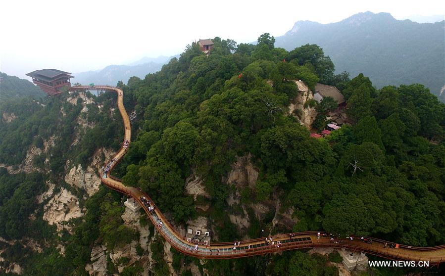 CHINA-SHAANXI-SHAOHUA MOUNTAIN (CN)