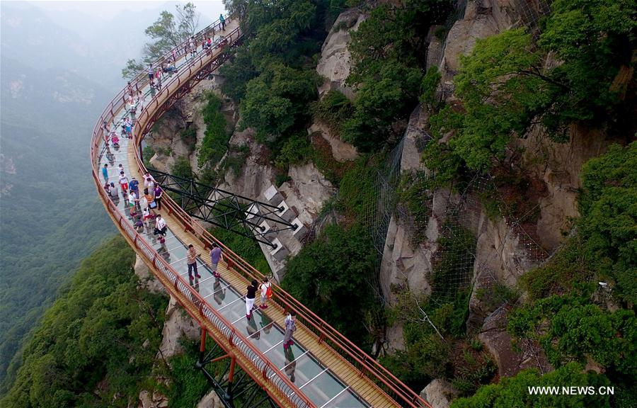 CHINA-SHAANXI-SHAOHUA MOUNTAIN (CN)