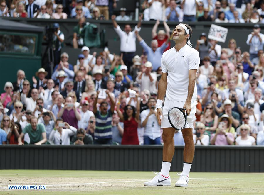(SP)BRITAIN-LONDON-TENNIS-WIMBLEDON-MEN'S FINAL