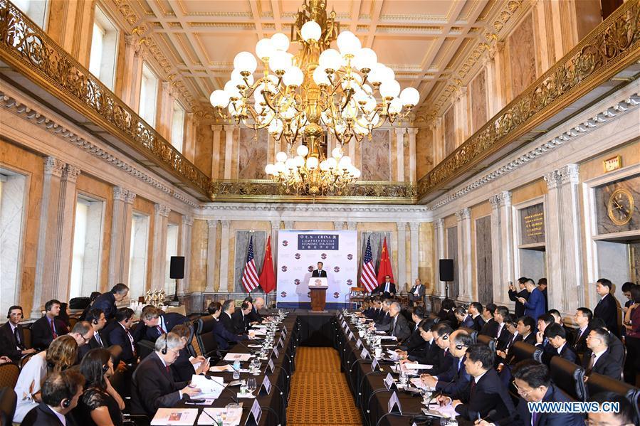 U.S.-CHINA-ECONOMIC DIALOGUE