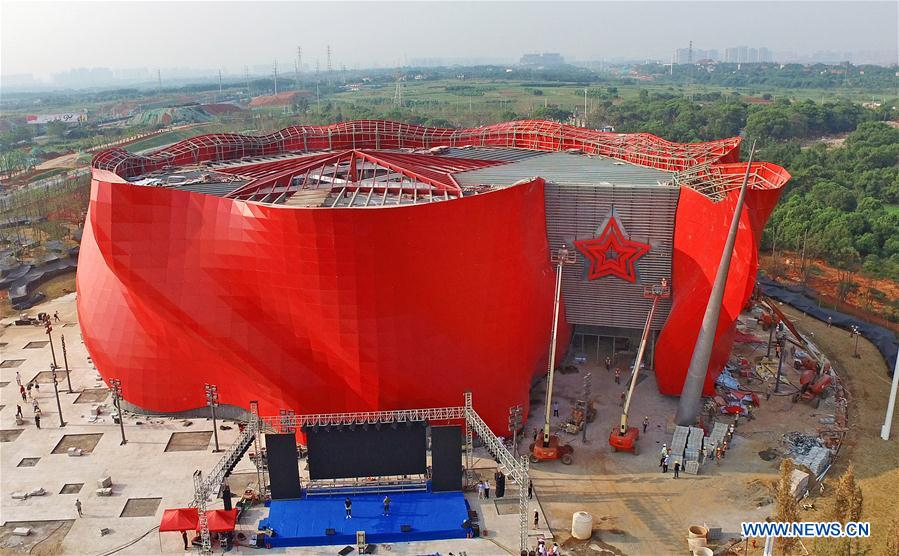 CHINA-JIANGXI-NANCHANG-MILITARY EQUIPMENT-EXHIBITION (CN)