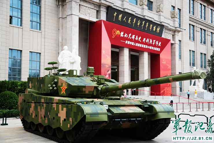 PLA weapons exhibition opens to the public