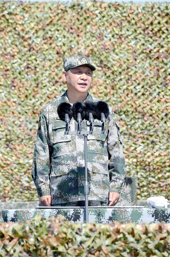 CHINA-INNER MONGOLIA-ZHURIHE-XI JINPING-MILITARY PARADE (CN)