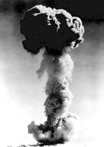 China's first atomic bomb explodes in 1964