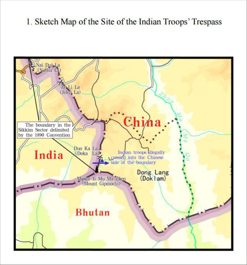 [GRAPHICS]CHINA-BOUNDARY-INDIA TROOPS-ILLEGAL TRESPASS-FACTS (1)