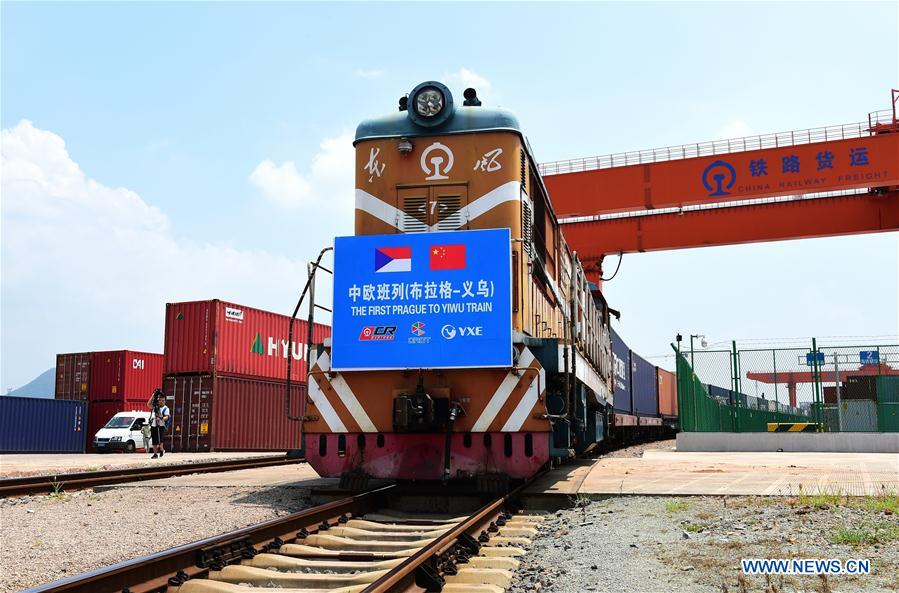 #CHINA-ZHEJIANG-YIWU-PRAGUE-FREIGHT TRAIN (CN)